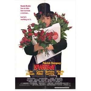 Loverboy Poster 27x40 Patrick Dempsey Kate Jackson Barbara Carrera