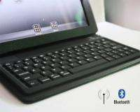 Bluetooth Wireless Keyboard Leather Jacket Cover Case Stand Apple IPAD