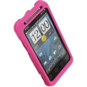 HTC EVO Shift Slide Snap Case (Pink) Electronics