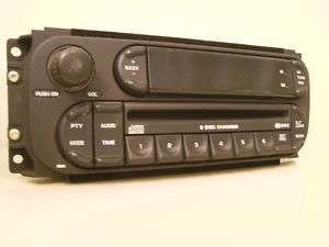 CHRYSLER DODGE JEEP CD 6 DISC PLAYER 6CD CHANGER RADIO ** FIX