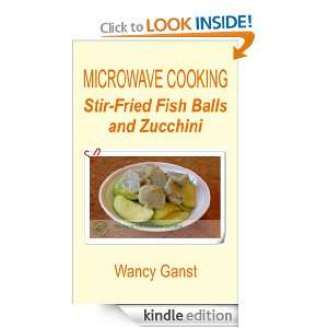 Fish Balls and Zucchini (Microwave Cooking   Fishes & Shellfishes