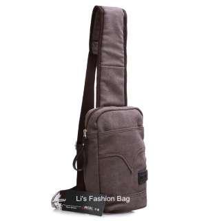New Mens Casual Mens Canvas Shoulder Bag 2023