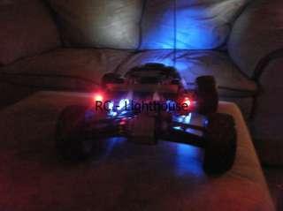 RC Car Truck Truggy LED Lights Working 4W4R4G 5mm