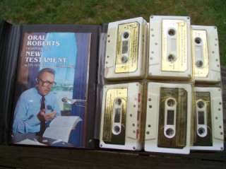 Oral Roberts Cassettes Reading The New Testament 16pc