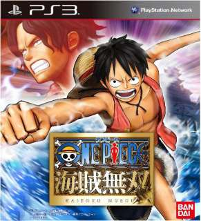 ONE PIECE KAIZOKU MUSOU 1 PIRATE MUSOU NEW FACTORY SEALED OFFICIAL