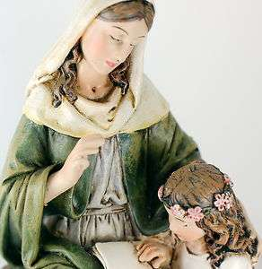 Anne Anna St Statue Figurine Paton Hannah Religious Gift Statue