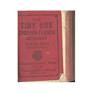The TINY ONE English French Dictionary Books
