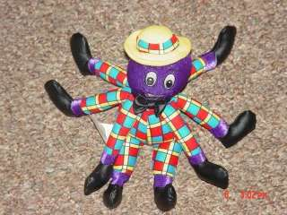 Wiggles Henry the Octopus Plush Lovey Stuffed Animal Doll