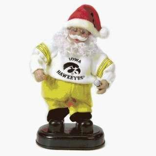 Iowa Hawkeyes Ncaa Animated Rock & Roll Dancing Santa (12