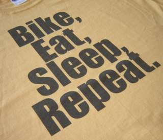 Bike Eat Sleep Bicycle Cycling Racing Jersey T shirt