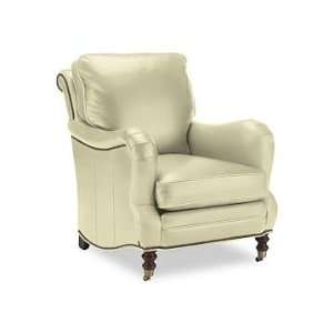 Williams Sonoma Home Drew Chair, Leather, Vanilla