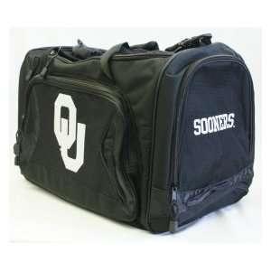 Oklahoma Sooners OU NCAA Duffel Bag Flyby Style