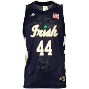 adidas Notre Dame Fighting Irish #44 Navy Blue Replica
