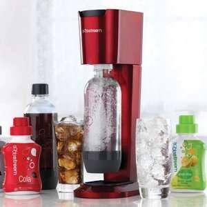 SodaStream Genesis Red Home Soda Maker NEW IN RETAIL BOX