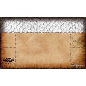 Card Accessories: White Elder Dragon Scroll Playmat: Toys & Games