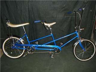 SCHWINN MINI STINGRAY TWINN 1968 BICYCLE BIKE TANDOM STING RAY