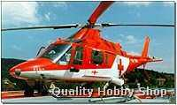 Revell 1/72 Agusta Red Cross Rescue Helicopter skill 3 plastic model