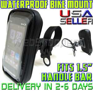 HTC Surround EVO MyTouch 4G WaterProof Case Bike Motorcycle Handle Bar