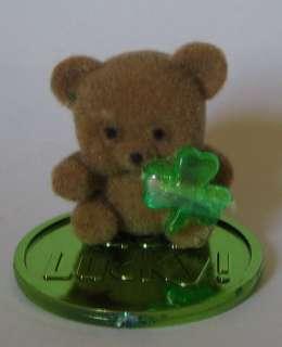 Miniature St. Patricks Day Teddy Bear w/Shamrock