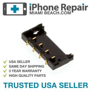 iPHONE 4 REPAIR BATTERY CLIP CONNECTOR TERMINAL BOARD