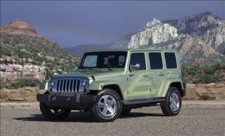 2009 Jeep Wrangler Unlimited EV Car Picture