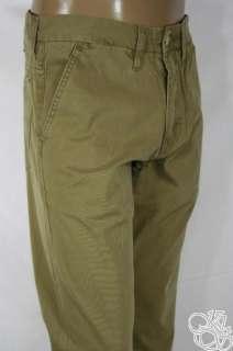LEVIS JEANS 505 Trouser Cougar Khaki Sits at Waist Straight Leg Mens