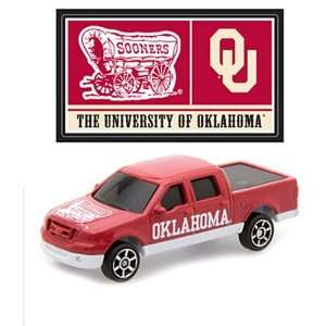 : OKLAHOMA SOONERS NCAA 1   87 Scale Ford F 150 Pick up Diecast Truck