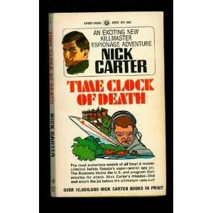 Time Clock of Death Nick Carter Books
