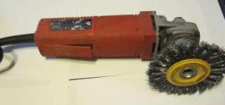 Milwaukee 4.5 paddle trigger grinder sander