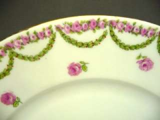 Royal Austria Pink Roses Cup & Saucer (s)