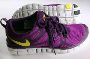 Nike Womens FREE 3.0 V3 Shoes Running Training Fitness $90 Grape