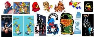 High Res Arcade Artwork  Marquees,Logos,Side Art,Bezels