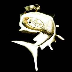 GUY HARVEY DOLPHIN CHARM DESIGNER 14 KT YELLOW GOLD