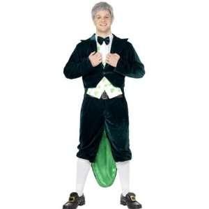 Irish Leprechaun St Patricks Day 6pc Fancy Dress Costume