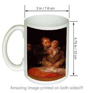 de Goya Art COFFEE MUG Self portrait with Dr Arrieta