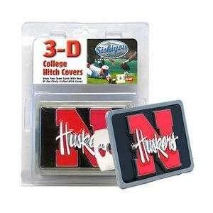 College Trailer Hitch Cover   Nebraska Cornhuskers Sports