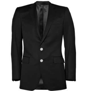 Ralph Lauren Black Label Anthony Black Wool Gabardine Blazer  MR