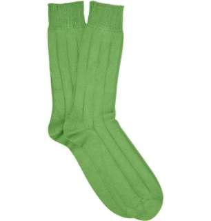 Accessories  Socks  Casual socks  Casual Ribbed