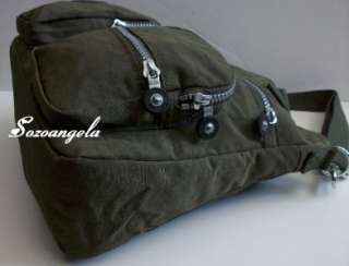 KIPLING ADOMMA Handbag Shoulder Crossbody Bag Ginko Leaf