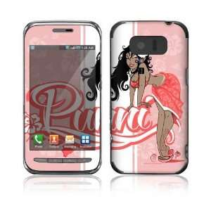 Lynx 3D SH 03C (Japan Exclusive Right) Decal Skin   Puni Doll Pink