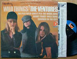 THE VENTURES WILD THINGS! 1966 DOLTON STEREO SURF FUZZ
