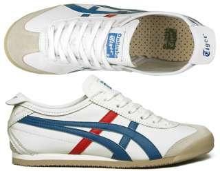 Asics Schuhe Onistsuka Tiger Mexico 66 white/blue/red alle Größen