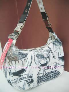 NWT Gwen Stefani L.A.M.B Large Hella Hobo Bag LAMB Rare