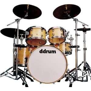 ddrum Dominion maple series DM22 5 Piece drum kit, Natural