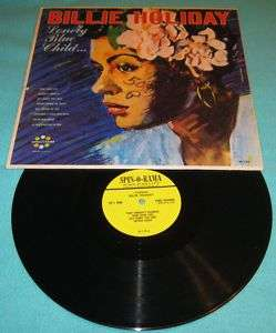 BILLIE HOLIDAY/GEORGE WALLINGTON LONELY BLUE CHILD LP