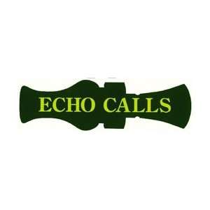 Echo Logo Window Decal