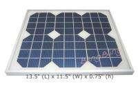 10 Watt 18 Volt Solar Power Panel DC 12V System Battery Charger PWM