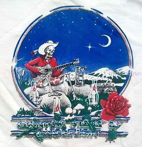 Grateful Dead T Shirt  VTG Style  1986 Tour  Counting Stars by