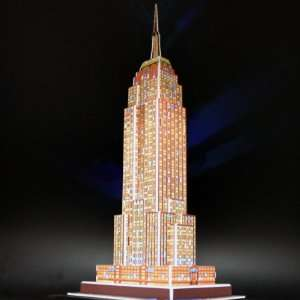 Empire State Building New York NY Color Changing LED Lighting Famous