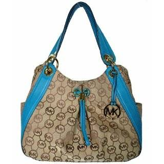 Michael Kors Monogram Signature LUDLOW Large Shoulder Tote Bag Handbag